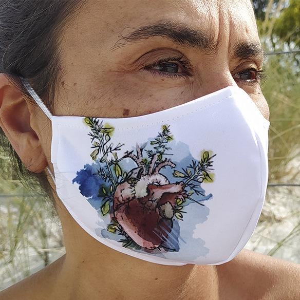 Mascarilla Reutilizable Latexo Galego
