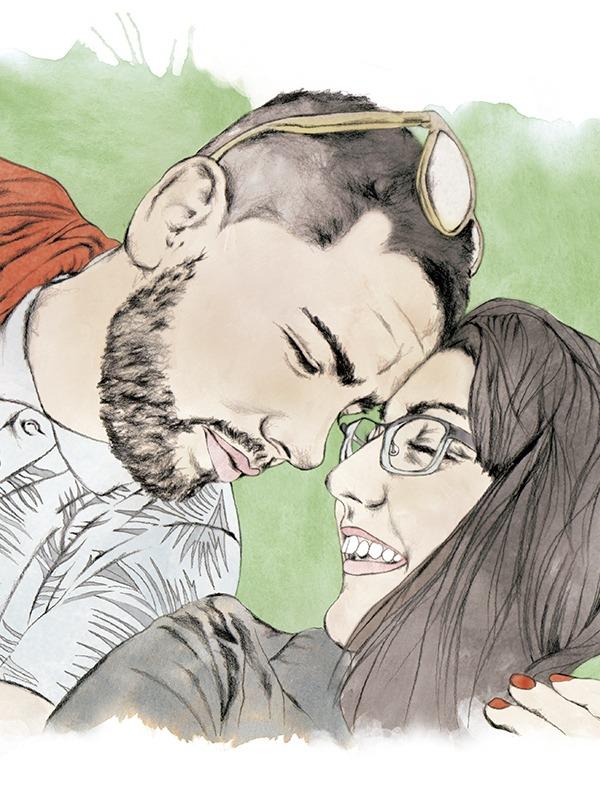 Ilustracion personalizada pareja